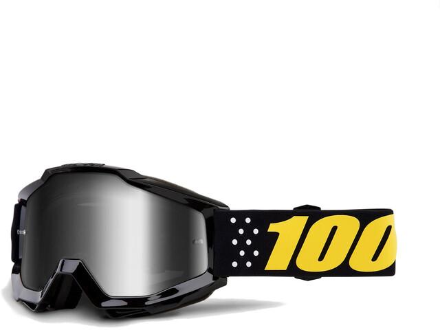100% Accuri Anti Fog Mirror Goggles sort (2019) | Glasses